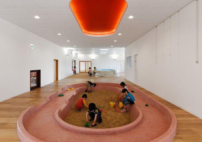 Игровая зона внутри жилого дома